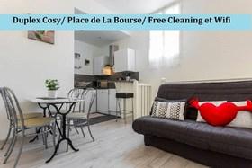 Image de Duplex de Charme 35 Rue St Rémi - Bordeaux ***** Lumineux, Calme, 2è Avec asc